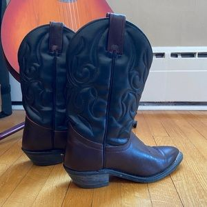 Canada West Leather Cowboy Boots